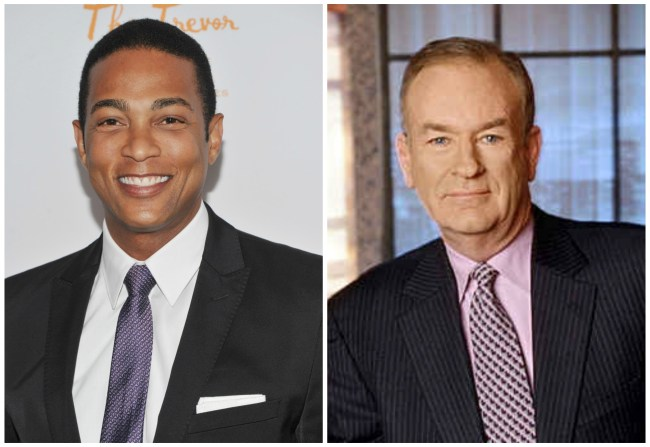 Don Lemon and Bill OReilly