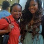 I snagged a pic wit Karen Civil