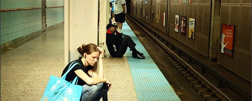 stress on train platform