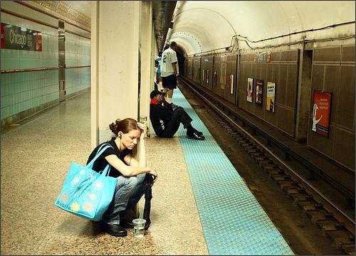 stress on train platform