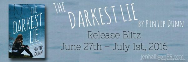 The Darkest Lie Release Blitz   Pintip Dunn   JenHalliganPR.com