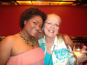 Jenice Armstead with Vicki Shaw, Comic