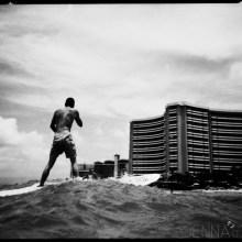 01 waikiki surfing beach photography