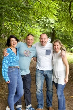perthshire natural family photo shoot