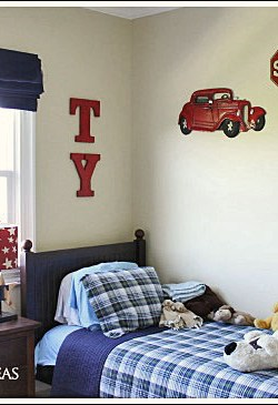 Kid's bedroom decorating ideas from Jennifer Decorates.com