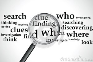searching-magnifying-glass-over-selection-words-31680803