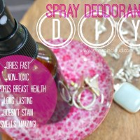 So Simple Spray Deodorant!