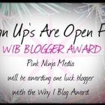 WIB Blogger Awards
