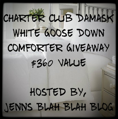 comfy gc FREE Blogger Opportunity - $360 Goose Down Comforter #Giveaway