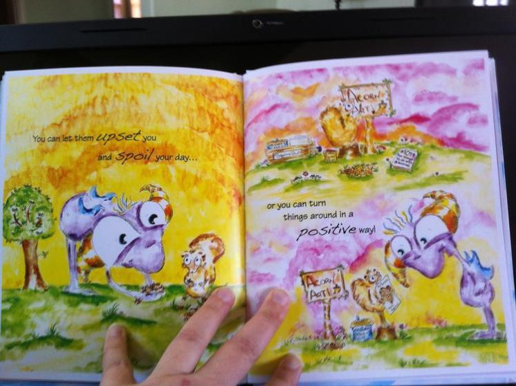 Worry Woos children's Book Worry Woos Twitch Monster and The Very Frustrated Monster Children's Book