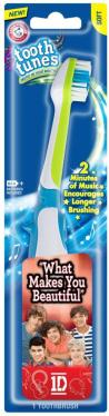 OneDirection WhatMakesYouBeautiful How To Get My Toddler To Brush Her Teeth: Arm & Hammer Tooth Tunes Rock! #sponsored