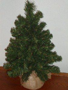 christmastree1 NATIONAL TREE COMPANY 2' NOBLE SPRUCE TREE  #REVIEW