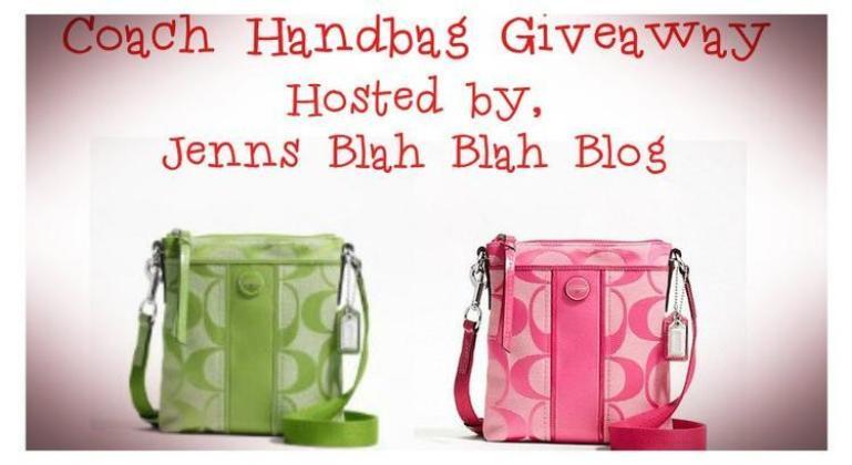 Coach Handbag Giveaway Free Coach Handbag Giveaway Sign Ups: Two Winners