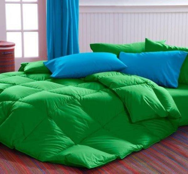 Green Comforter Cuddledowns, Vibrant Bedspreads and Comforters   OH MY!