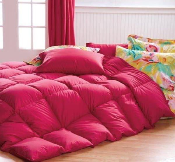 Red Comforter  Cuddledowns, Vibrant Bedspreads and Comforters - OH MY!  Red Comforter