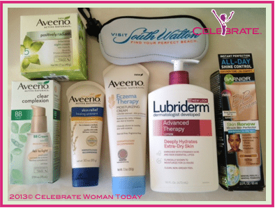 Aveeno Lubriderm skincare giveaway Enter to #Win Aveeno Skincare Prize Package, $70 Value