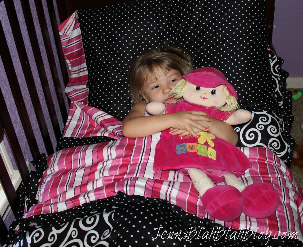 Bright Pink Toddler Bedding Madison Toddler Bedding #Review, Plus Bedroom Design Ideas!