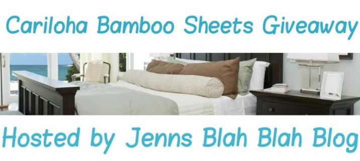 Cariloha Bamboo Sheets Giveaway  Enter to #Win The Cariloha Bamboo Sheets #Giveaway! Cariloha Bamboo Sheets Giveaway