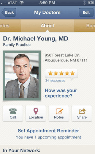 Find a Doctor On Your Smartphone How To Find A Doctor, Get Recommendations & More: Healthgrades App