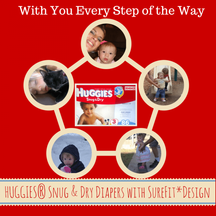 HUGGIES® Snug & Dry Diapers with You every step of the way Challenge Your Diaper With Huggies Snug & Dry | Win Prizes & Help A Baby In Need!