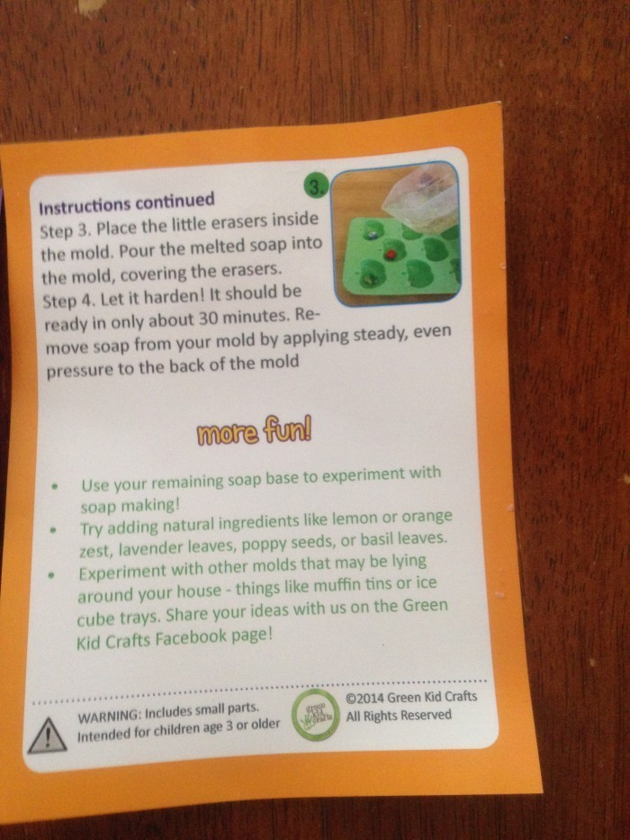 IMG_0102  The Green Kids Craft Box Provides Fun and Learning IMG 0102 e1397539847124