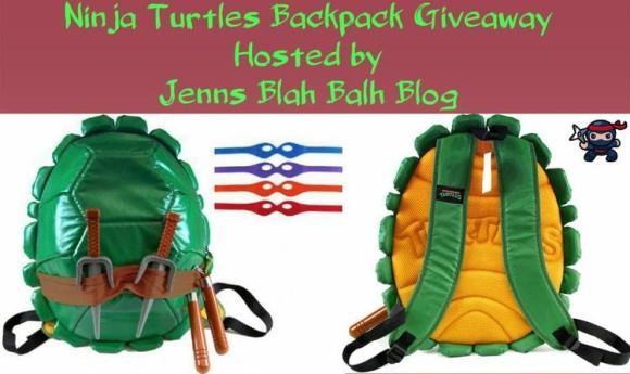 Ninja Turtles Backpack giveaway