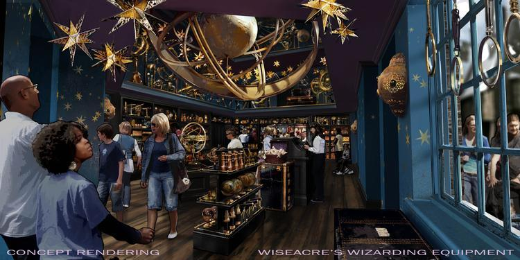 Wiseacre's Wizarding Equipment  Universal Orlando Wizarding World of Harry Potter – Diagon Alley #UniversalOrlando Wiseacres Wizarding Equipment