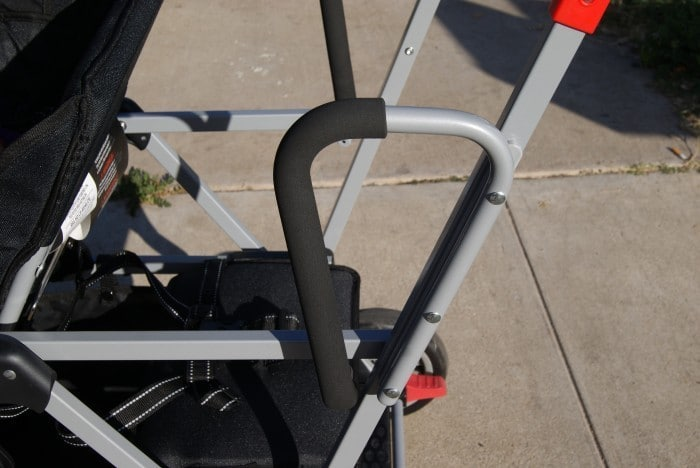 Hold/Grip passenger bars Life Is so much Easier With The Joovy Caboose Ultralight!!