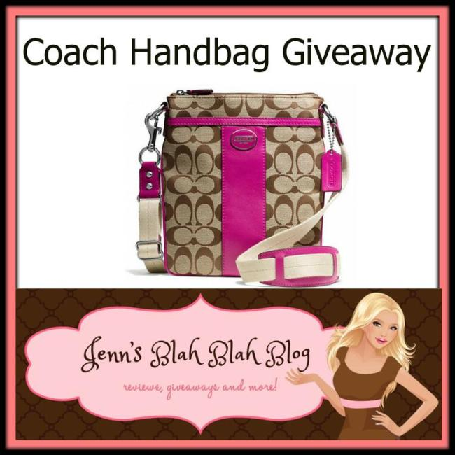 coach handbag giveaway 1024x1024 #Giveaway: Enter To #Win A Coach Signature Swingpack