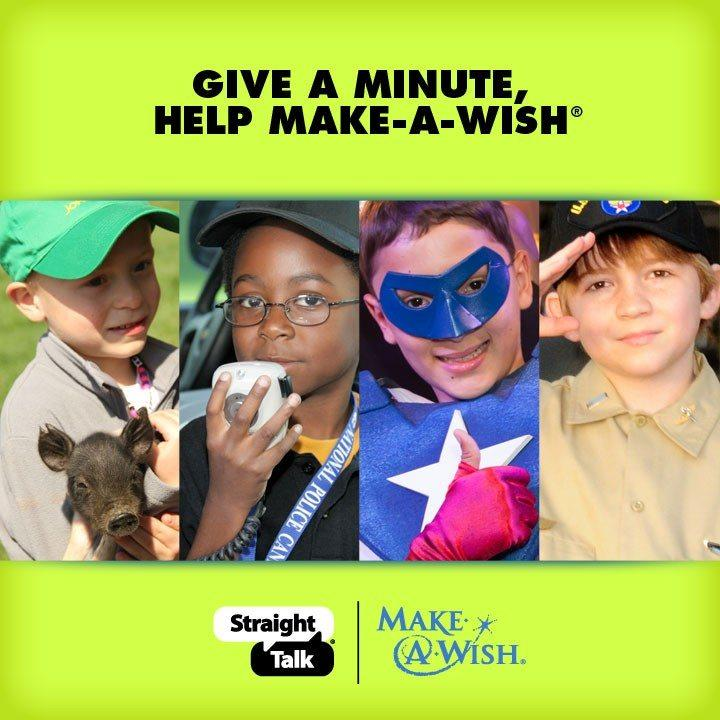 help the make a wish foundation Make Kids Dreams Reality, One Minute One Million for Make A Wish