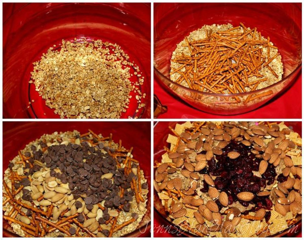 steps to making trail mix Looking For Valentine's Day Recipe Ideas Try Valentine's Day Trail Mix