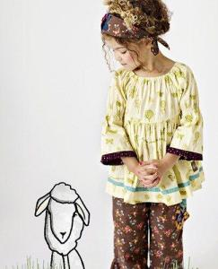 matilda jane paint by numbers model 243x300 Back to School Playful And Expressive with Matilda Jane Clothing