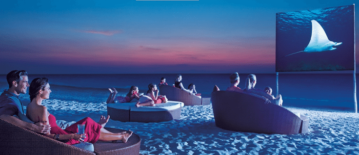 """movies on the beach  """"Choose Your Escape"""" Learn How We Can Win A Dream Vacation #ResortEscape movies on the beach"""