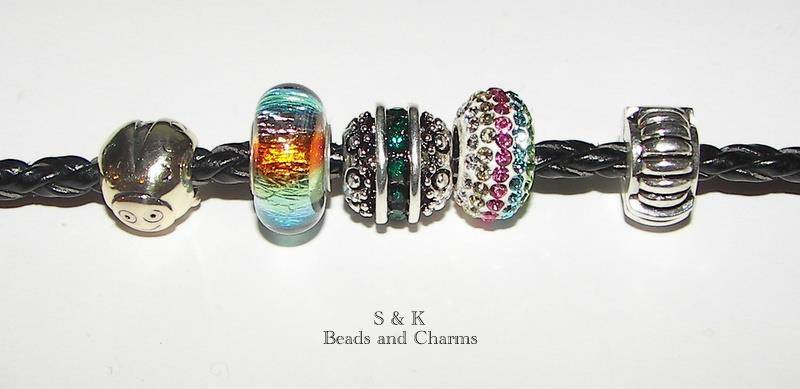 Handmade beads and bracelet Instantly Falling Head over Heels for S & K Charms and Beads