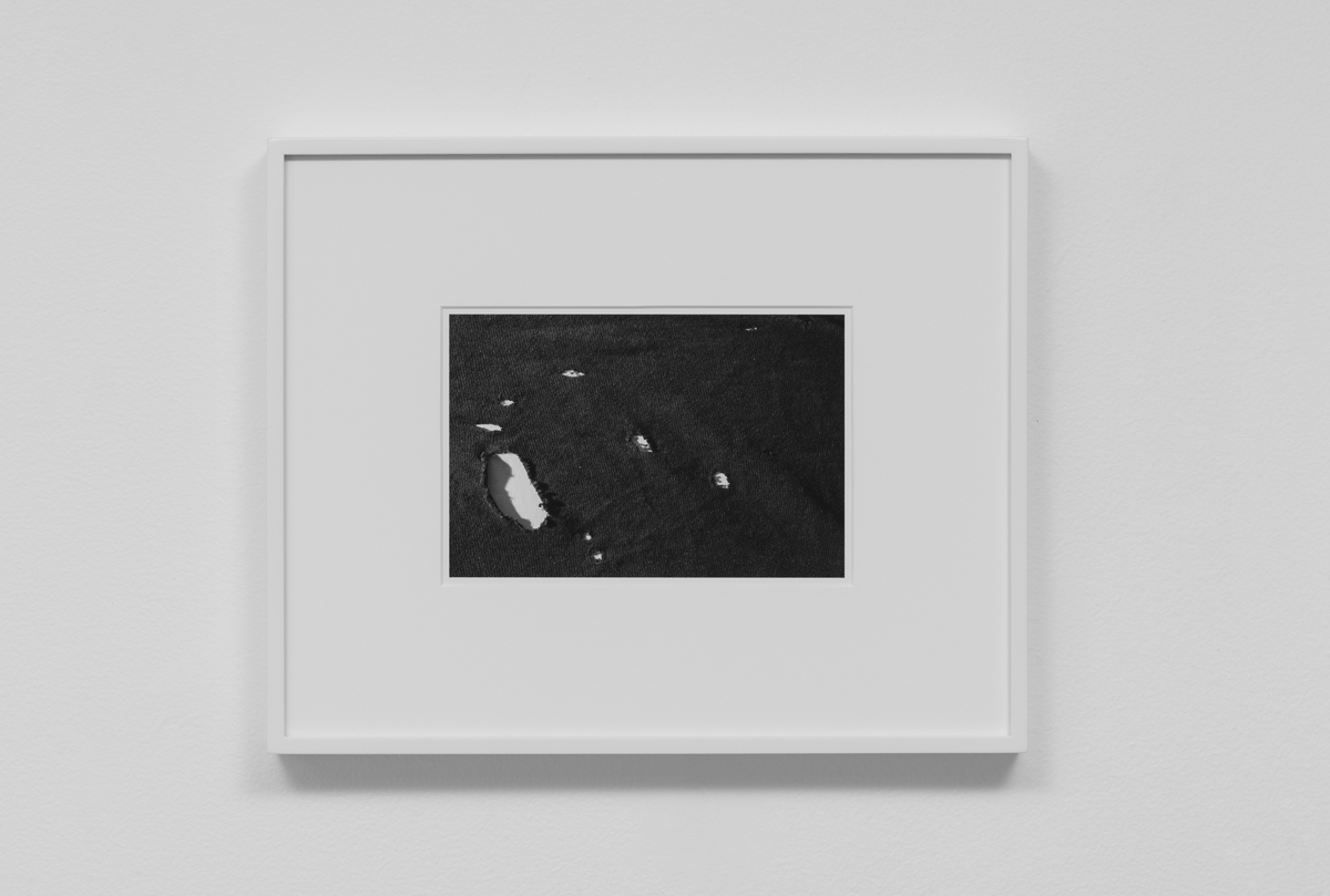 Carter Seddon - Shirt Holes, 2015, archival inkjet print, 11 ¾ x 14 ½ inches framed