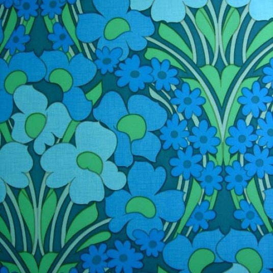 Jenny Michal Interiors | 70's wallpaper