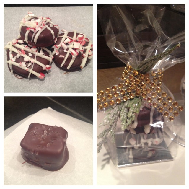 Chocolate Peppermints and Sea Salt Caramels
