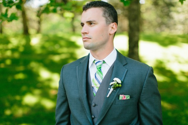 Canterwood Groom, photo by Jeff Marsh || boutonniere by Jen's Blossoms