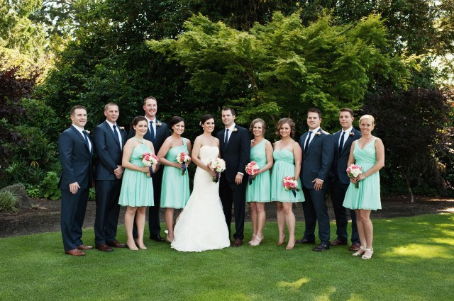 Tacoma Country & Golf Club Wedding; photo by Jeremy Leffel | flowers by Jen's Blossoms