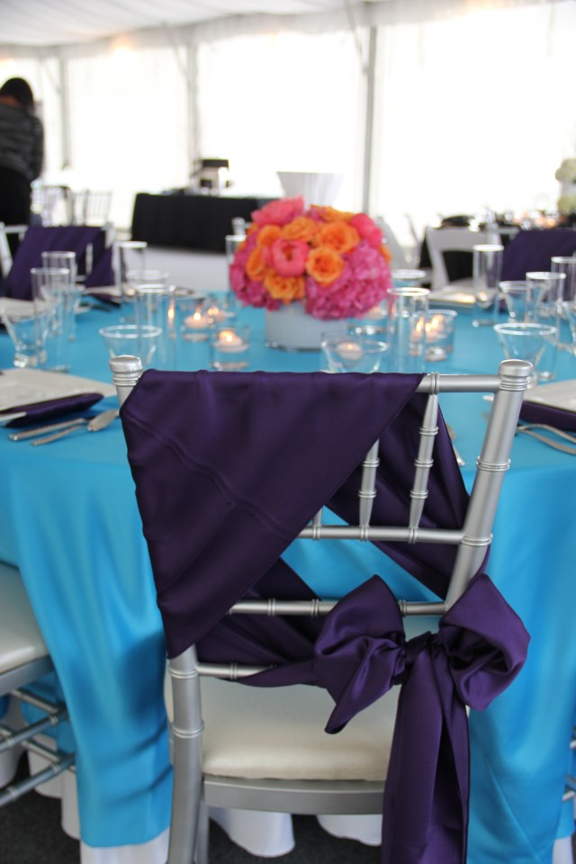 Purple Chair Tie