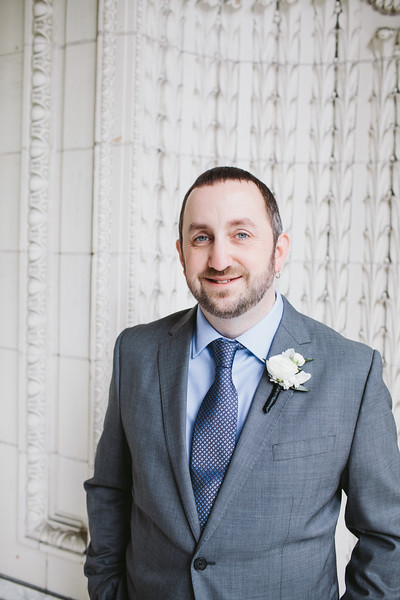 Boutonniere || Flowers, Design & Planning by Jen's Blossoms || Photo by: Shelby Brakken Photography
