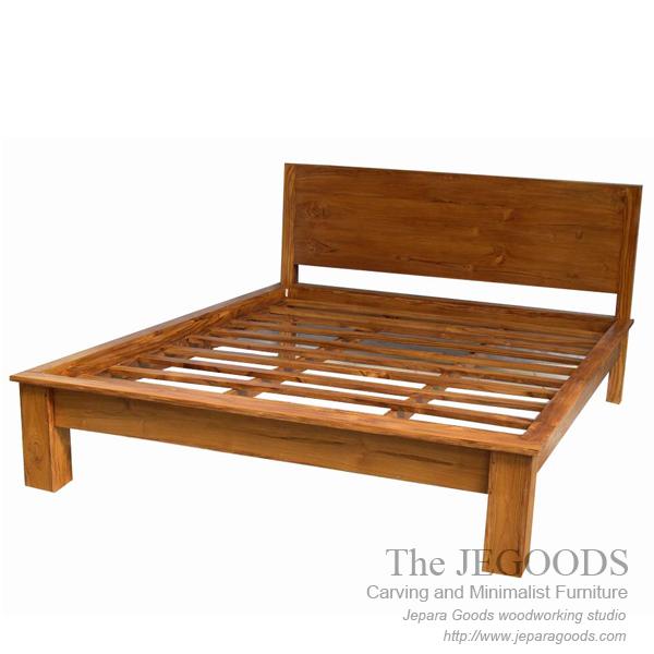 Teak Bed Minimalist Contemporary Furniture Jepara,solid Bed Minimalist,teak  Indoor Jepara Furniture Manufacturer