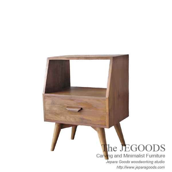Kodok drawer retro scandinavian furniture jepara teak for Furniture jepara