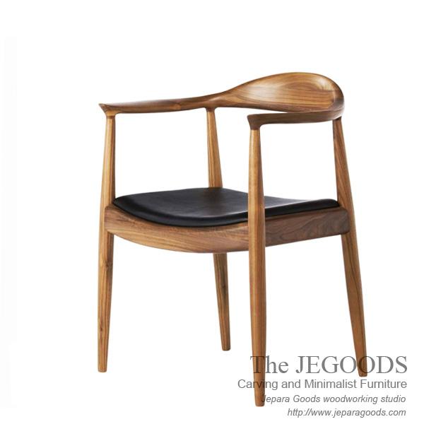 Replica of Wishbone Hans Wegner ChairKursi Cafe Hans Wegner Jati