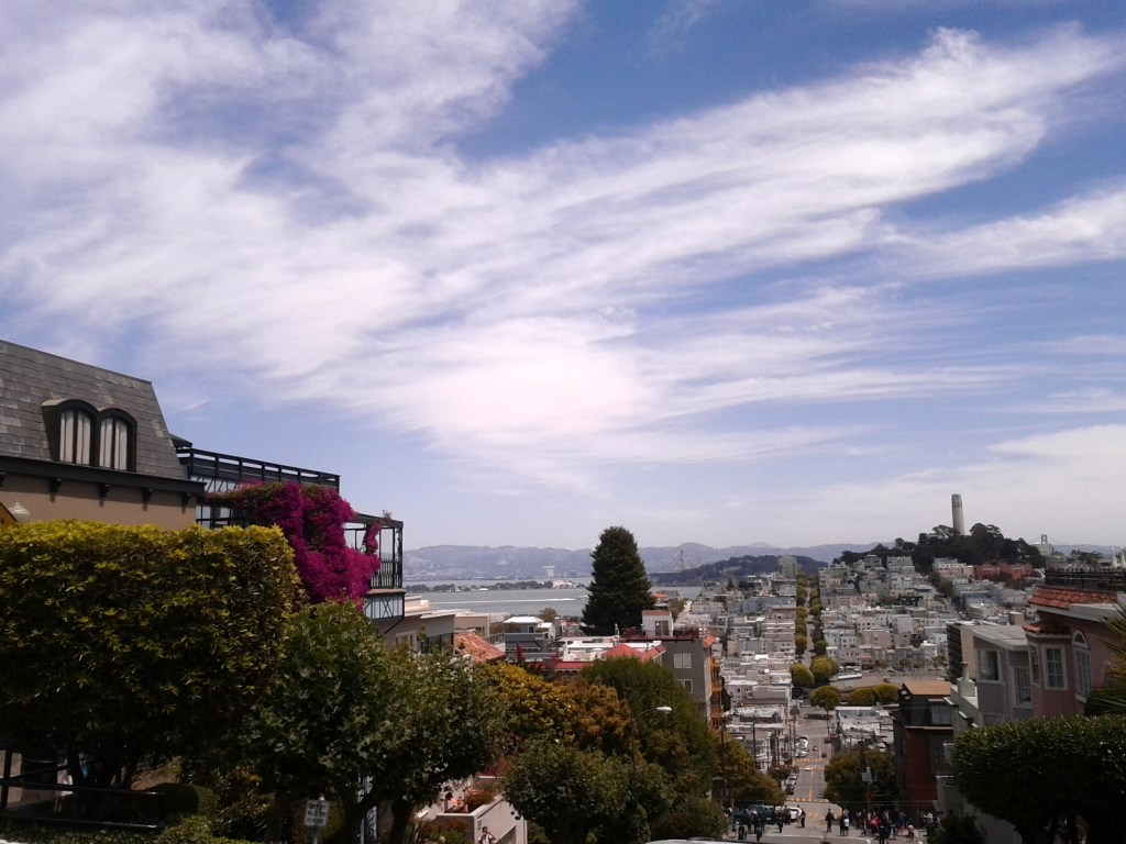 I came all this way from Coit Tower! :)