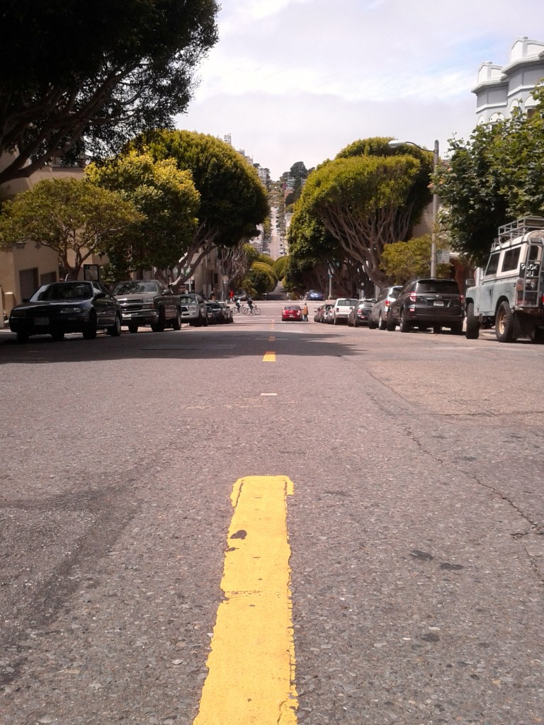 View from the Streets around Coit Tower