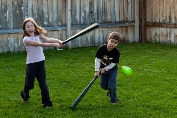 Wiffle Ball Near Miss