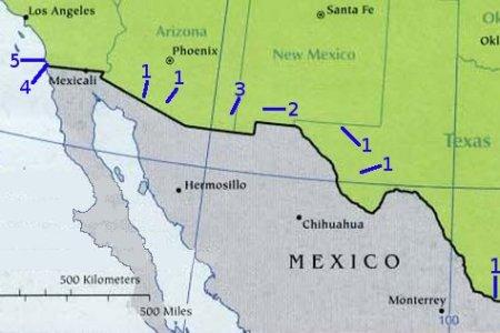 united states mexico border map car tuning