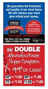 acme doubles coupons