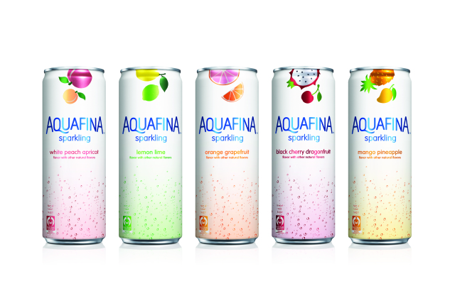 Aquafina is the new hydration sponsor of New York Fashion Week.